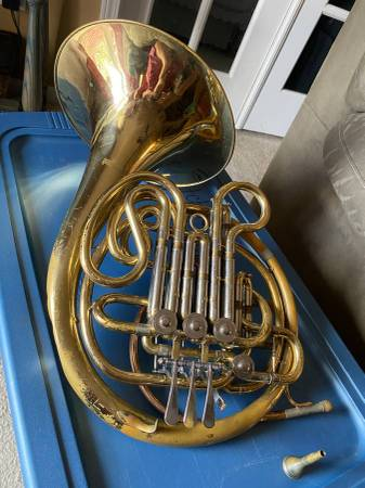 Photo Schmidt Double French Horn - $475 (Marcy)