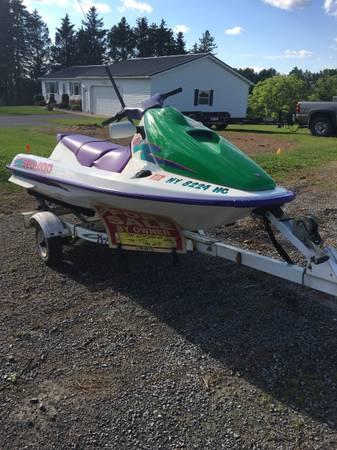 Photo Sea-Doo jet-Ski - $2,450 (New Hartford NY)