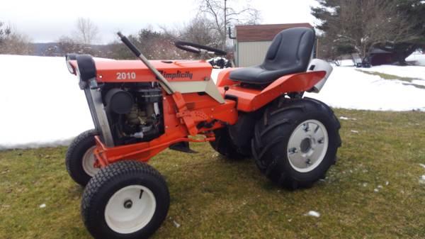 Photo Simplicity garden tractors - $1,500 (Oneonta)