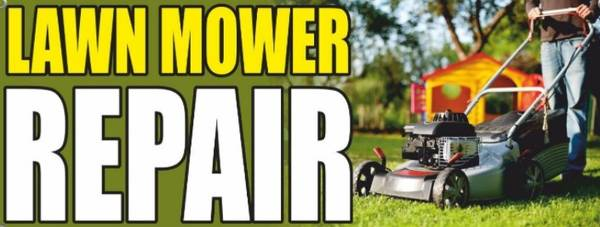Photo Start your own lawn mower repair Includes laptop - $300 (Vernon)