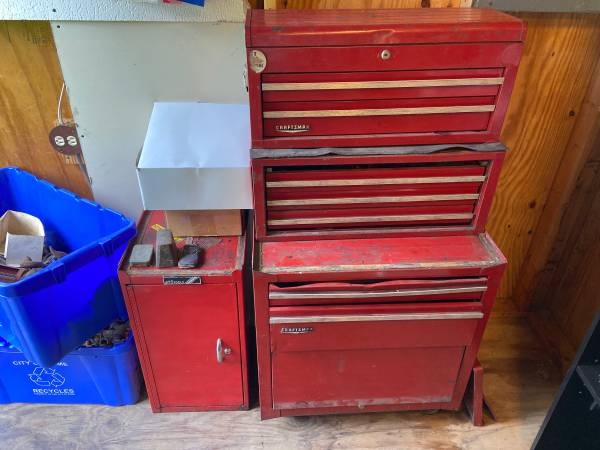 Photo Tool Chest Loaded With Mechanic Tools - Snap-On and others - $1,200