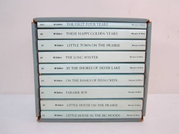Photo Vintage Little House on the Prairie 1971 Box Set (9 books) Blue - $50 (Green Island)