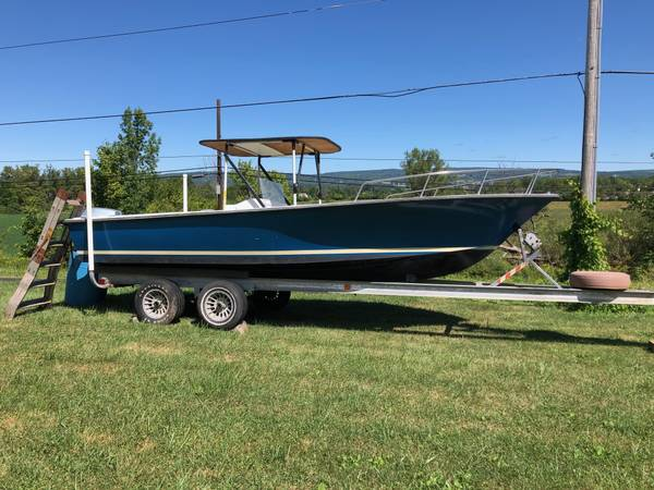 Photo center console boat - $3,250 (frankfort)
