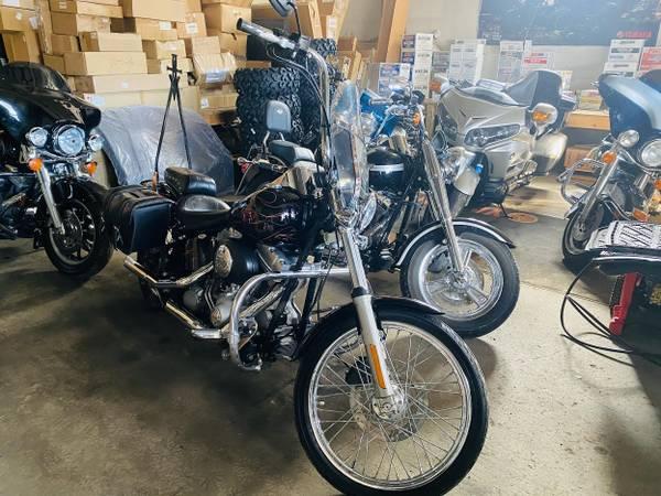 Photo nice 2004 Harley Davidson softail custom - $4,995 (tonys ticonderoga,ny)