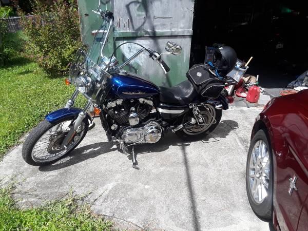 Photo 1200CC HD Sportster - $3,550 (Jacksonville)