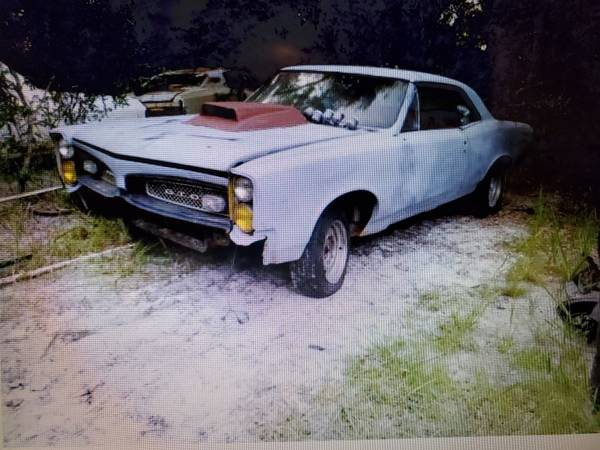 Photo 1967 PONTIAC GTO PROJECT REAL 242 CAR TRADE - $5,500 (Spring Hill)