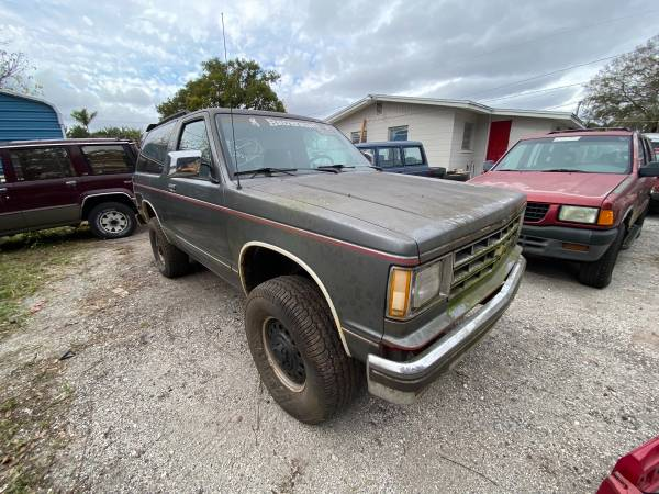 Photo 1987 Chevy Blazer 4x4 73K Unrestored - $3,500 (Must see)