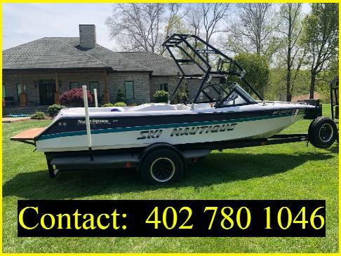 Photo 1995 Ski Nautique Ski Boat - $1,600 (valdosta)