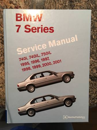 Photo 1995 - 2001 BMW 7 series service manual - $75 (Mandarin)