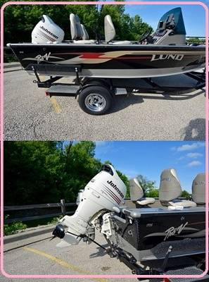 Photo --2003 lund 1775 proV boat with trailer for a brand new owner-- - $1,400 (valdosta)
