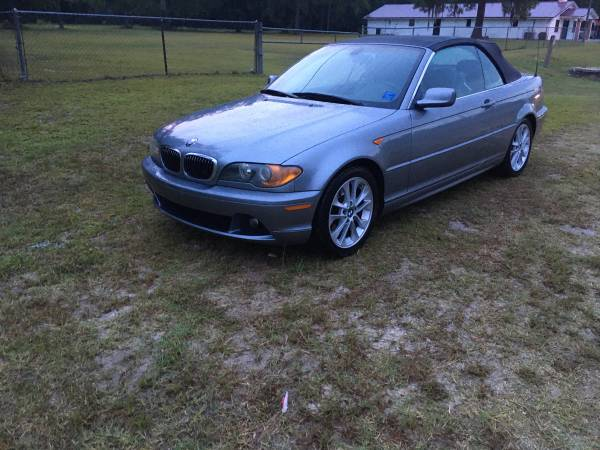 Photo 2004 BMW 330CI CONVERTIBLE - $4,950 (VALDOSTA, GA)