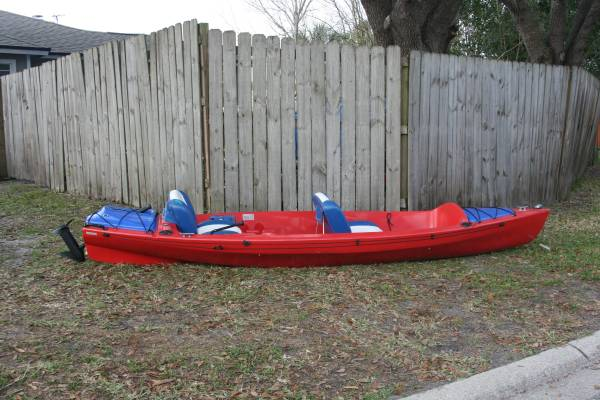 Photo 2005 Kayacht 130 Electric Touring Kayak  Jon boat - $2,000 (Middleburg)