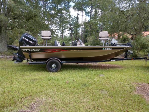 Photo 2006 Fisher 170 ProHawk Bass Boat - $12,000 (Nicholls)