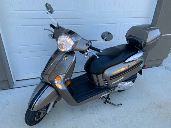 Photo 2015 Kymco Like 200 scooter 163cc - $1,700 (Kernan Atlantic)
