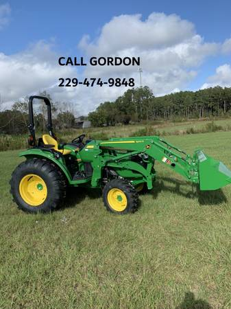 Photo 2020 JOHN DEERE 4052R TRACTOR WITH 440R LOADER (CALL GORDON) - $40,199 (Valdosta)