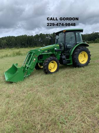 Photo 2020 JOHN DEERE 5090E CAB TRACTOR W 540M LOADER (CALL GORDON) - $64,900 (Valdosta)