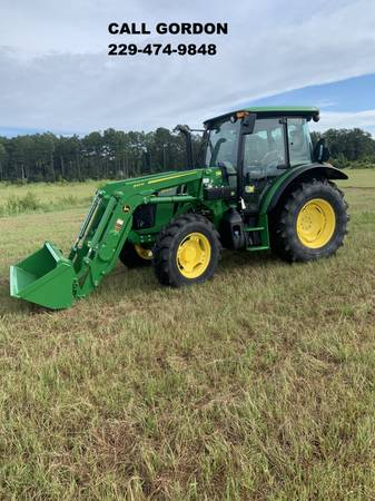 Photo 2020 JOHN DEERE 5100M PREMIUM CAB TRACTOR W 540M LOADER (CALL GORDON) - $81,900 (Valdosta)