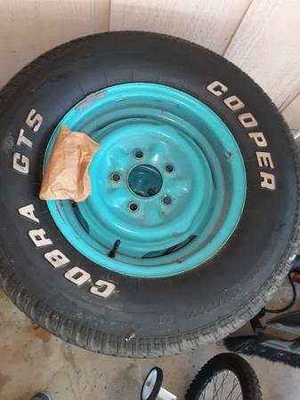 Photo (4) Four Classic Chevy Wheels - $500 (Valdosta)