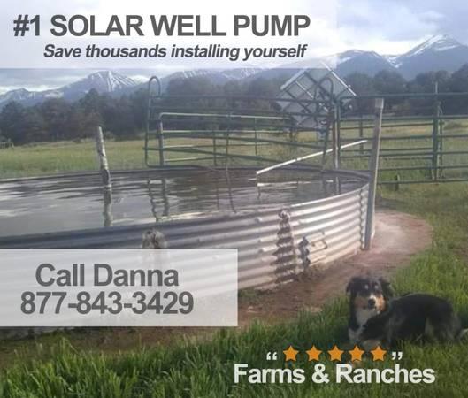 Photo Full Set Pump well water with solar-No more windmill repairs - $1,550 (valdosta)
