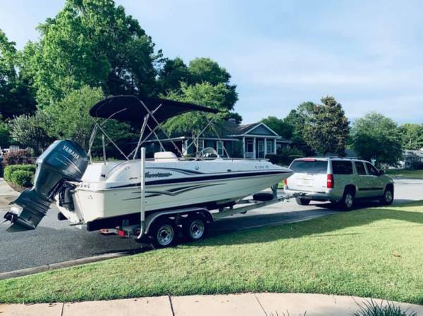 Photo Hurricane Deck Boat - $21,000 (High Springs)