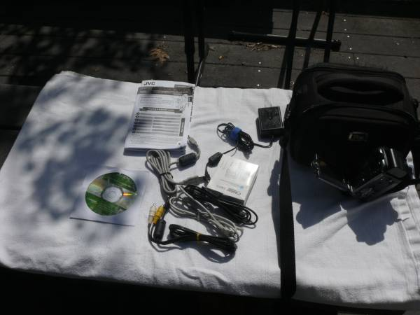 Photo JVC Camcorder set - $100 (Jacksonville)
