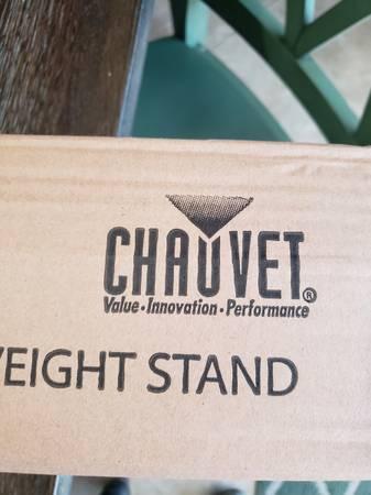 Photo Last one Chauvet CH-06 Lighting T-Bar Tripod DJ Event Stand - New - $47 (Fleming IslandOrange Park)