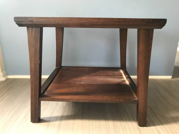 Photo Used - Pier 1 side table - $20 (Tifton)