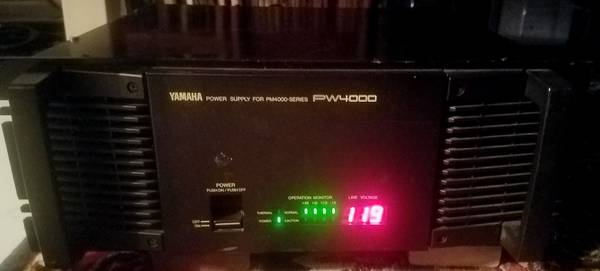 Photo Yamaha PW4000 Power Supply for PM4000 Mixer - $150 (Jacksonville)
