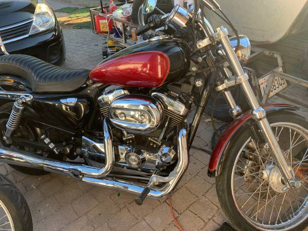 Photo 05 Harley-Davidson Sportster 1200 Custom $5000 FIRM - $5000 (Woodland Hills)