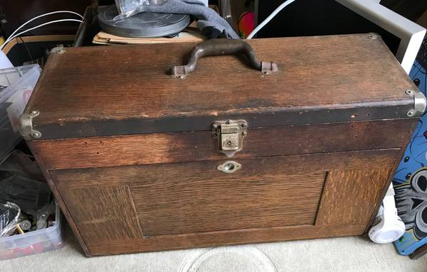 Photo 11 Gerstner tool box wood vintage machinist chest  tools - $199 (thousand oaks)