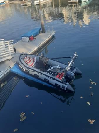 Photo 14ft inmar patrol series center console boat - $7,000 (oxnard)