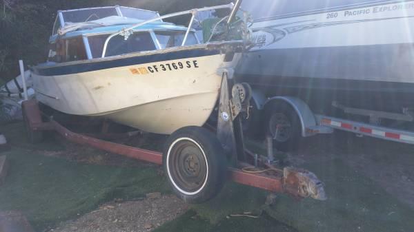 Photo 1961 Glaspar 1939 Boat Motor And Trailer - $950 (ventura)