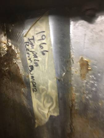 Photo 1966 impala rear bumper - $125 (Moorpark)