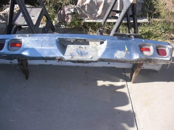 Photo 1973-1977 chevy el camino rear chrome bumperlights - $195 (lompoc)