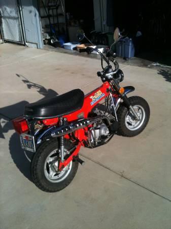 Photo 1976 Honda CT 70 - $2999 (Newbury Park)
