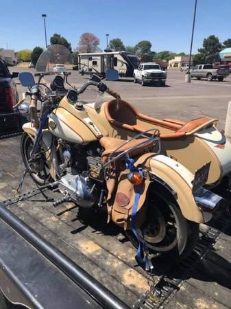Photo 1985 Harley Davidson XLS Sportster with Sidecar - $8,500 (Ventura)