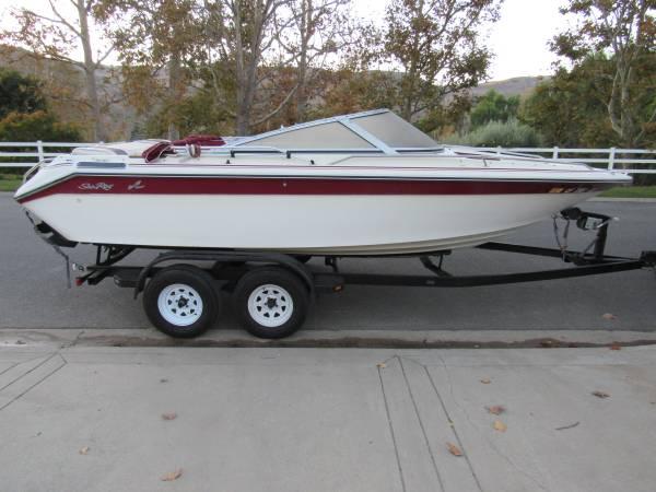 Photo 1989 Sea Ray 20 Ft Bow Rider - $10,800 (Camarillo)