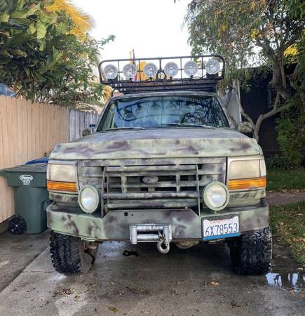 Photo 1992 Ford F350 with lots of extras - $6,300 (Midtown Ventura)