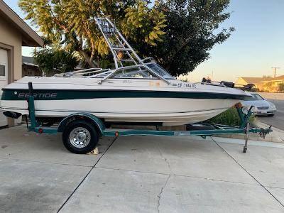 Photo 1997 Ebbtide 182XL Fish  Ski Boat - $10,500 (Camarillo)