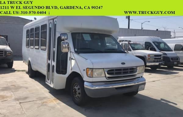 Photo 1998 FORD E450 1439 SHUTTLE BUS CAMPER HIGHROOF SPRINTER TRANSIT VAN - $12,500 (gardena)