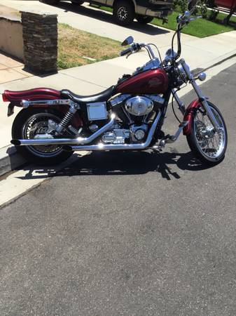 Photo 2000 Harley wide-glide - $8,000 (Camarillo)