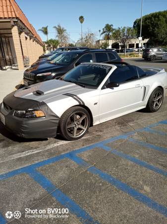 Photo 2000 Mustang GT Convertible 5 speed - $4,500 (Fillmore)