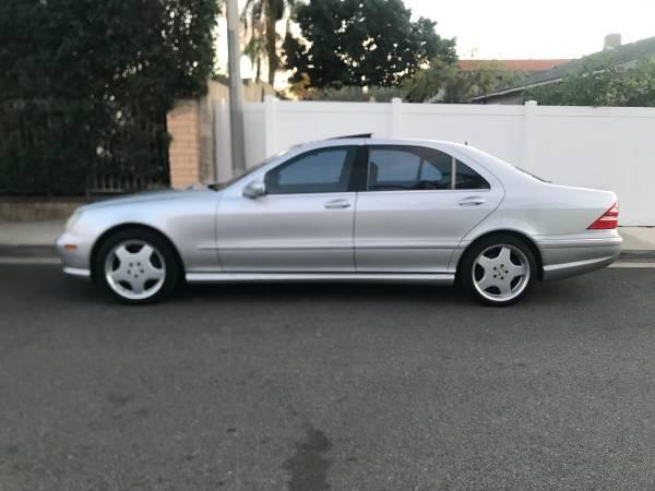 Photo 2001 Mercedes S500 - $3900 (Oxnard)