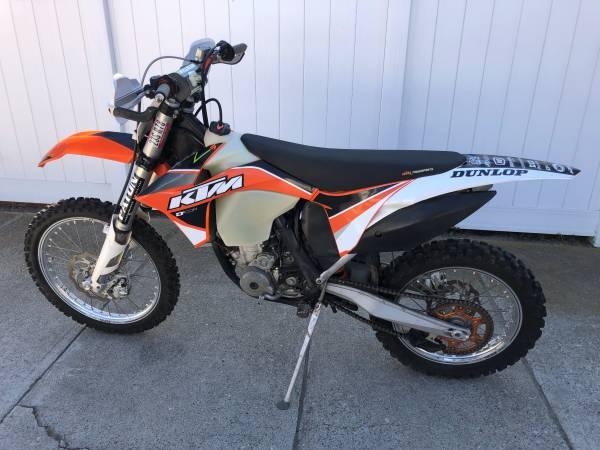Photo 2011 KTM 250 CX-F Dirt Bike - $4,600 (Ventura)