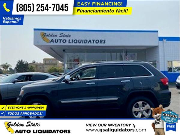 Photo 2013 Jeep Grand Cherokee Limited PRICED TO SELL - $15,998 (1205 N. Oxnard Blvd, Oxnard, CA 93030)