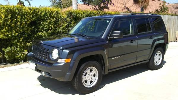 Photo 2015 Jeep Patriot 4WD in Midnight Blue - $15,995 (Camarillo)