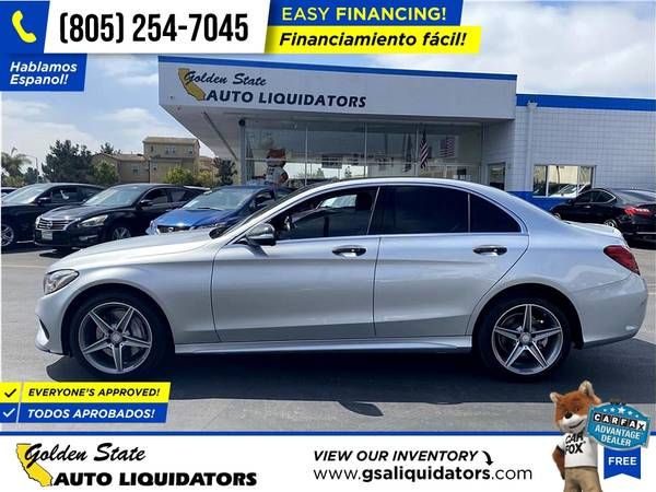 Photo 2015 Mercedes-Benz CClass C Class C-Class C 300 4MATIC 4 MATIC 4-MATIC - $17,999 (1205 N. Oxnard Blvd, Oxnard, CA 93030)