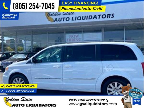 Photo 2016 Chrysler Town and Country Touring PRICED TO SELL - $13,789 (1205 N. Oxnard Blvd, Oxnard, CA 93030)