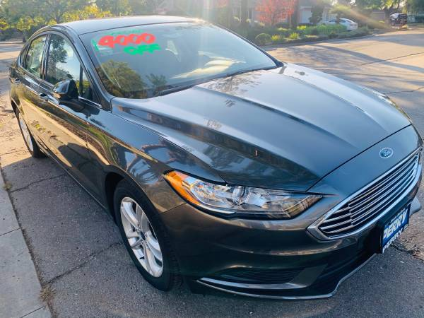 Photo 2018 Ford Fusion SE-BRAND NEW 2018-Magnetic in Color,396 miles - $20785