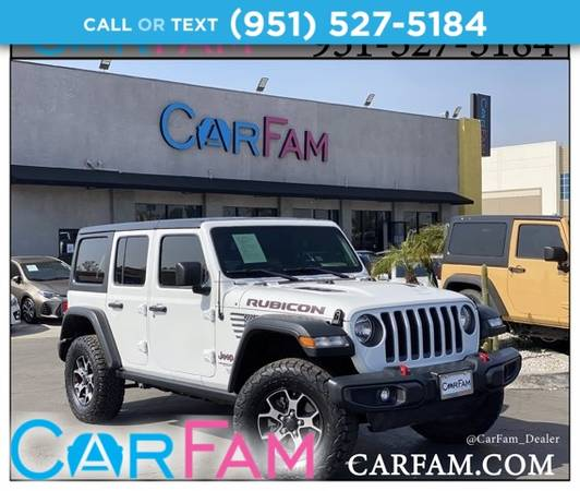 Photo 2018 Jeep All-New Wrangler Unlimited Rubicon 4x4 - $46,788 (_Jeep_ _All-New Wrangler Unlimited_ _SUV)